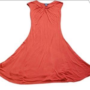 Chelsea & Theodore red dress women XS